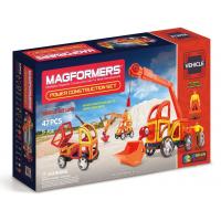 Magformers Construction Set, Cупер Стройтехника, 47 эл.