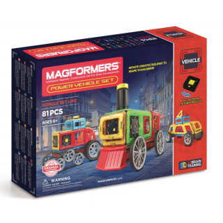 Magformers Power Vehicle Set,  Транспорт, 81 эл.