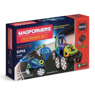 Magformers R/C Cruiser Set, Суперкар, 52 эл.