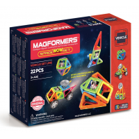 Magformers Space Wow Set,  Космический сет, 22 эл.