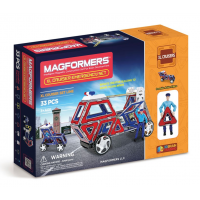 Magformers XL Cruiser Emergency, Спасатели, 33 эл.