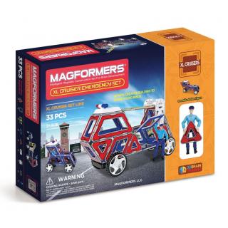 Magformers XL Cruiser Emergency, Спасатели, 33 эл.