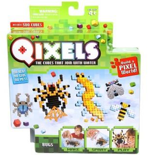 Набор аквамозаики из пикселей Qixels - Жуки