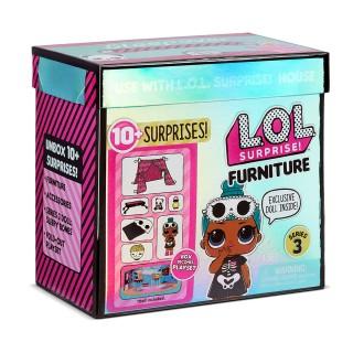 Набор LOL Surprise Furniture S3 Комната Леди-Сплюшки
