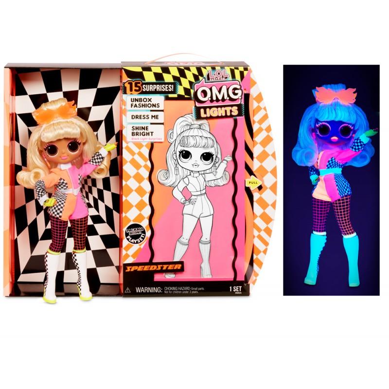 LOL OMG Lights Speedster светящаяся кукла Гонщик купить в ...