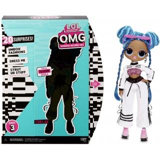 Кукла LOL OMG Chillax ЛОЛ ОМГ Леди-Релакс серии 3