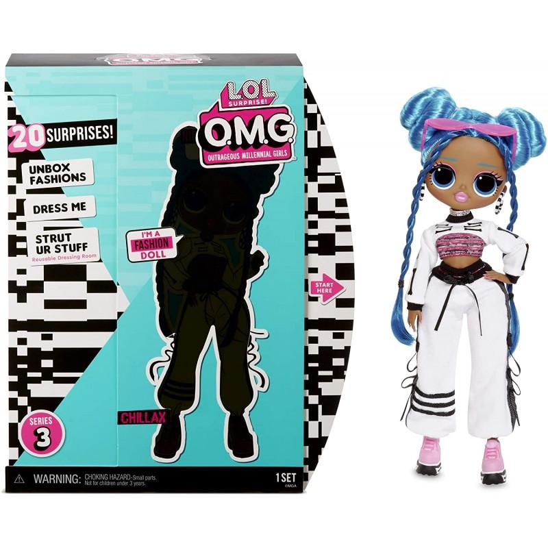 Кукла LOL OMG Chillax ЛОЛ ОМГ Леди-Релакс серии 3 купить в ...