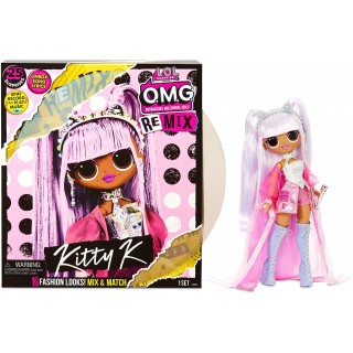 LOL Surprise OMG Remix Kitty K Королева Китти