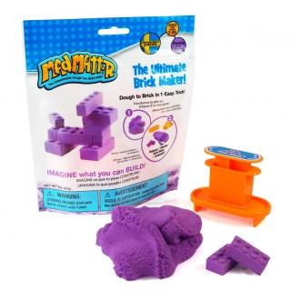 Набор Mad Mattr фиолетовый, формы-брики (кирпичики)