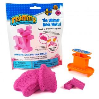Набор Mad Mattr розовый, формы-брики (кирпичики)