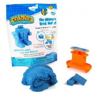 Набор Mad Mattr синий, формы-брики (кирпичики)