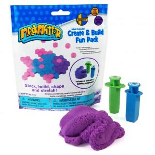 Набор Нано песок фиолетовый, формы-шприцы