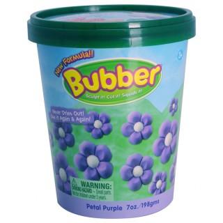 Смесь для лепки Bubber, фиолетовая, ведёрко 0,2 кг