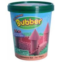 Смесь для лепки Bubber, красная, ведёрко 0,2 кг