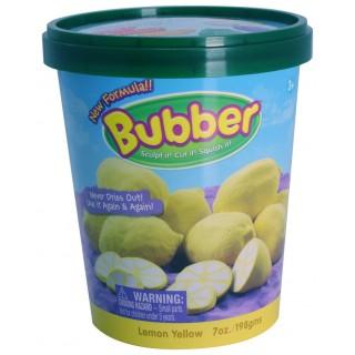 Смесь для лепки Bubber, жёлтая, ведёрко 0,2 кг