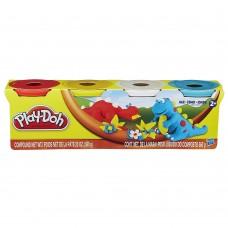 Пластилин Play Doh 4 Дино(560г)