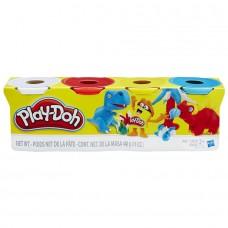 Пластилин Play Doh 4 Дино (448г)