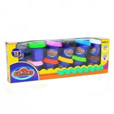 Пластилин Colour Dough 12 цветов (816г)
