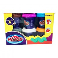 Пластилин Colour Dough 6 цветов (408г)