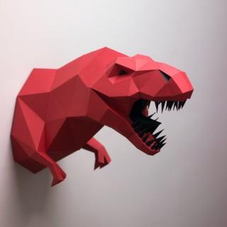 """Паперкрафт """"Динозавр T-rex"""""""