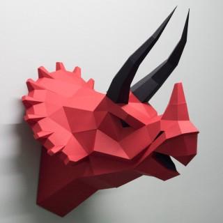 """Паперкрафт """"Динозавр T-ric"""""""