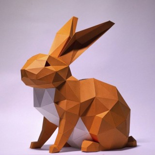 "Паперкрафт ""Кролик"""