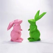 """Паперкрафт """"Кролики"""""""