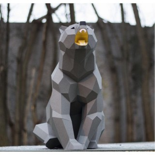 "Паперкрафт ""Медведь"""