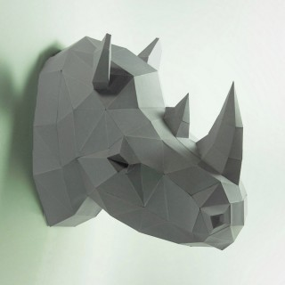 "Паперкрафт ""Носорог"""