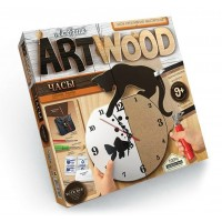 "Art Wood  Часы ""Кошка"""